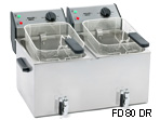 Twin Pan Fryer FD 8 DS | Roller Grill